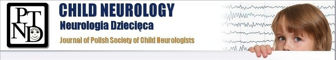 Child Neurology, Journal of Polish Society of Child Neurologists
